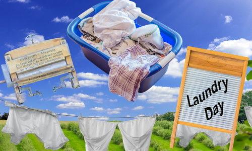 洗濯時の酸素系漂白剤の正しい使い方は?衣類の黄ばみ・汗じみをごっそり落とす!